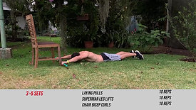 PUSH AND CORE CONDITIONING