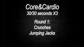 WORKOUT 12 - Cario&Core