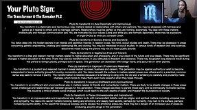 Transformation & Sex Magic using Astrology