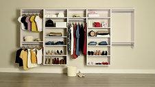 Hers Modular Closet
