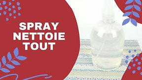 Spray nettoie tout