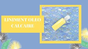 Liniment oléo-calcaire