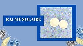 Baume solaire
