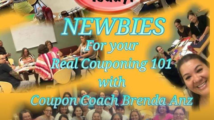 Real Couponing with Brenda Anz Coupon Class Edition