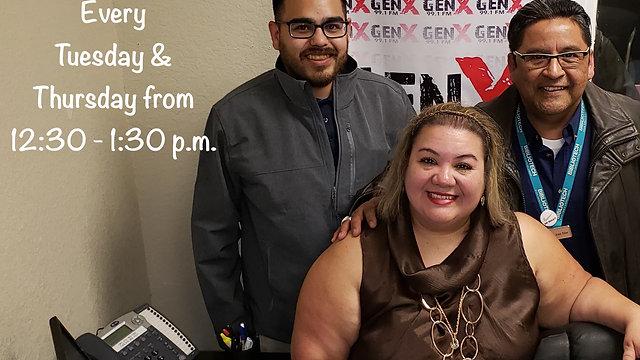 Brenda Anz on GenX 99.1 FM with Bibliotech South