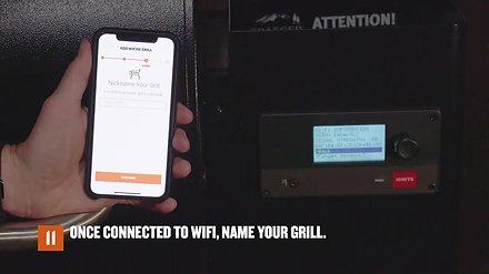 Πως να συνδέσετε τη ψησταριά με το wifi - WiFIRE quide for iOS