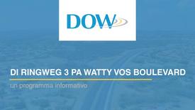DOW - Ringweg 3 pa Watty Vos Blvd