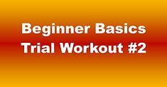 Beginner Basics Trial Workout #2 - 41:36 (70)