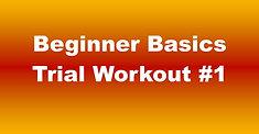 Beginner Basics Trial Workout #1 - 50:06 (70)