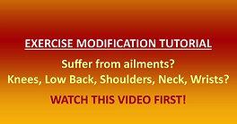 Tutorial: Exercise Modification (70) - 16:40