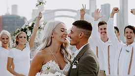 "Kaitlyn & Nicholas - ""My Big Fat Italian Wedding"" @ The Calile Hotel Brisbane - The Love Archives"