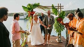 Emma & Grant's Vanuatu Elopement (Feb 2020) The Love Archives