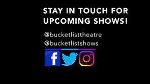 Bucket List Theatre Social Media Tag