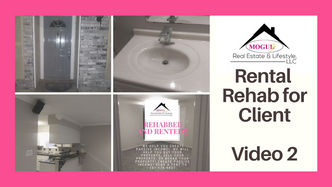 2 of 3 videos - Client rehab by MoguLife Real Estate, A Woman-Owned Company- Video 2