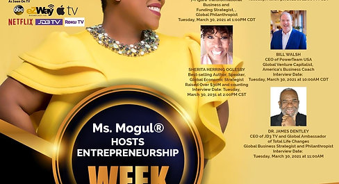 Ms. Mogul® Hosts Create Your Own Economy™ with Bill Walsh