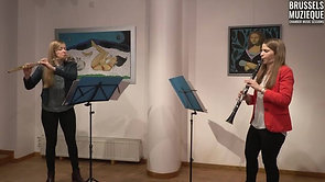 Andre Jolivet, Sonatine for flute and clarinet: Andantino