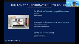 State of core banking. Presenter- Performetriks