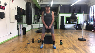 30min Athletic Kettlebell Workout (substitute with dumbbell)