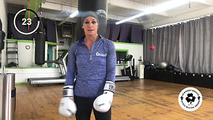 8 Round Heavy Bag Conditioning Workout