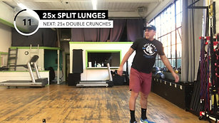 20min Full Body Resistance Workout w/Jesse