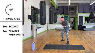 10 Round Boxfit Workout