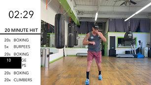 20min Full Body H.I.I.T Workout w/Jesse