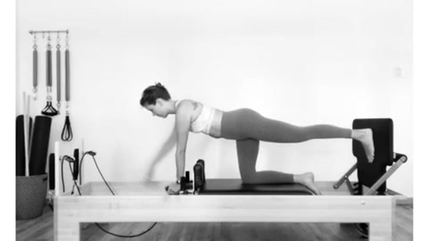 Jumping on Reformer - Quadruped Position
