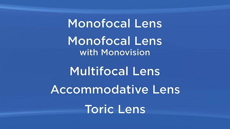 Lens Implant Videos