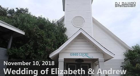Elizabeth & Andrew's Wedding (11/10/18)