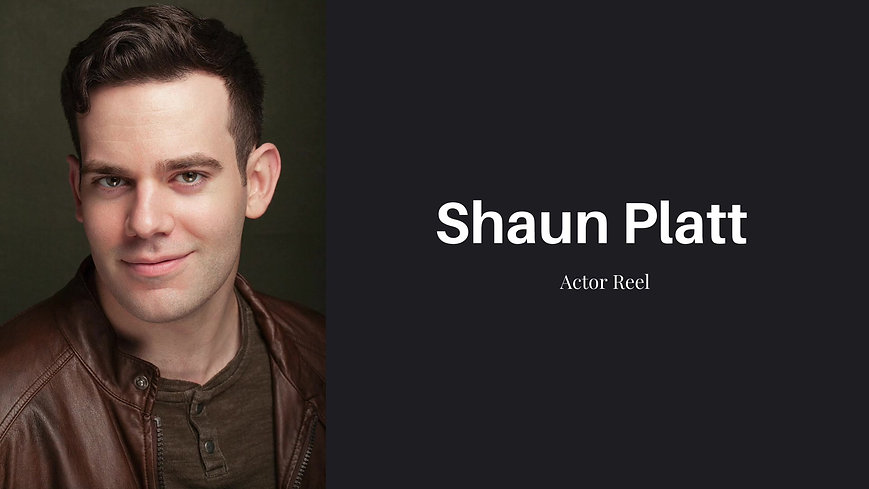 Shaun Platt Actor Reel 2020