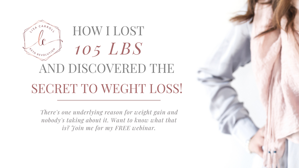 The Secret To Weight Loss Webinar