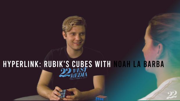 Hyperlink: Rubik's Cubes with Noah La Barba