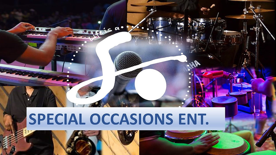 Special Occasions Band/EG PREMIERE LIVE PROMO