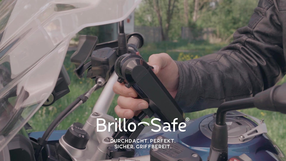 brillo-safe Motorrad