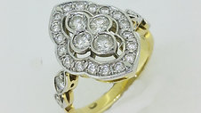 Antique Marquise Diamond Ring