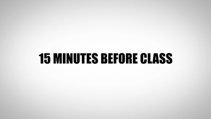 What to expect at your first class.