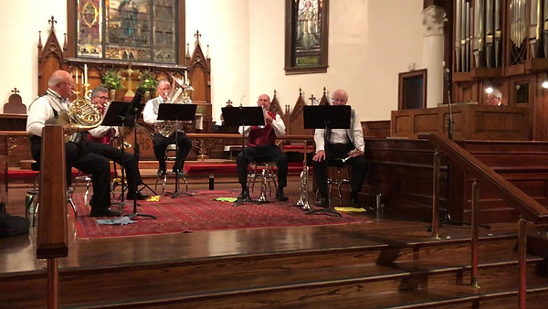 El Paso Brass LIVE @ The Church of St. Clement