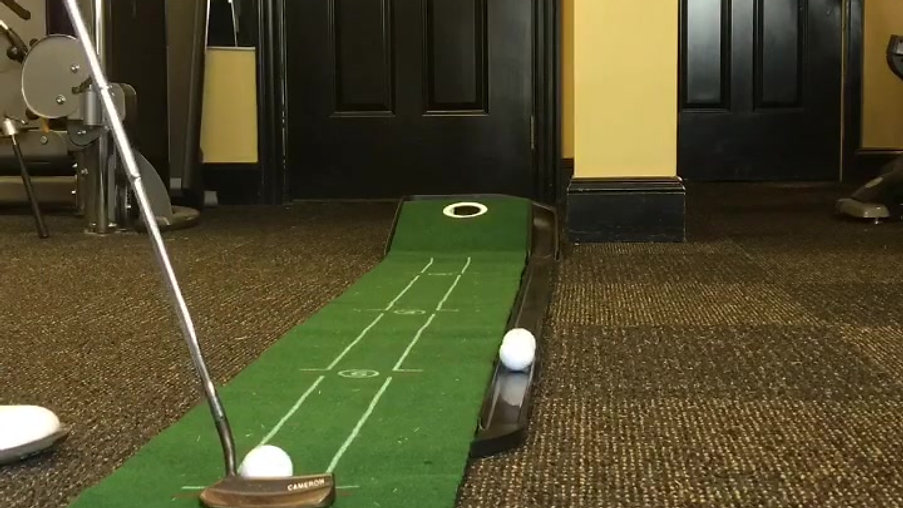 Indoor Putting Practice
