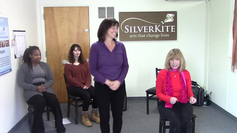 "Silver Kite's Intergenerational Theatre Company performance of ""Keys."""