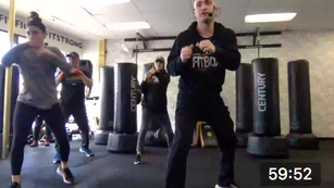 Boxing Power Hour with Abs