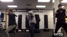 Boxing Blast with Extra Glute Work