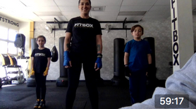 FitKids Boxing Combos with Angela