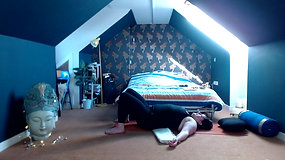 Yoga Orkney® Online - Restorative Yoga - Bounce in your step