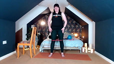 Yoga Orkney® Online - Full Body Barre - I'm with the bands