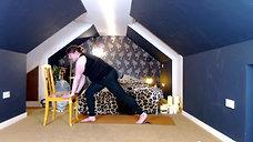 Yoga Orkney Online - Full Body Barre - Superman