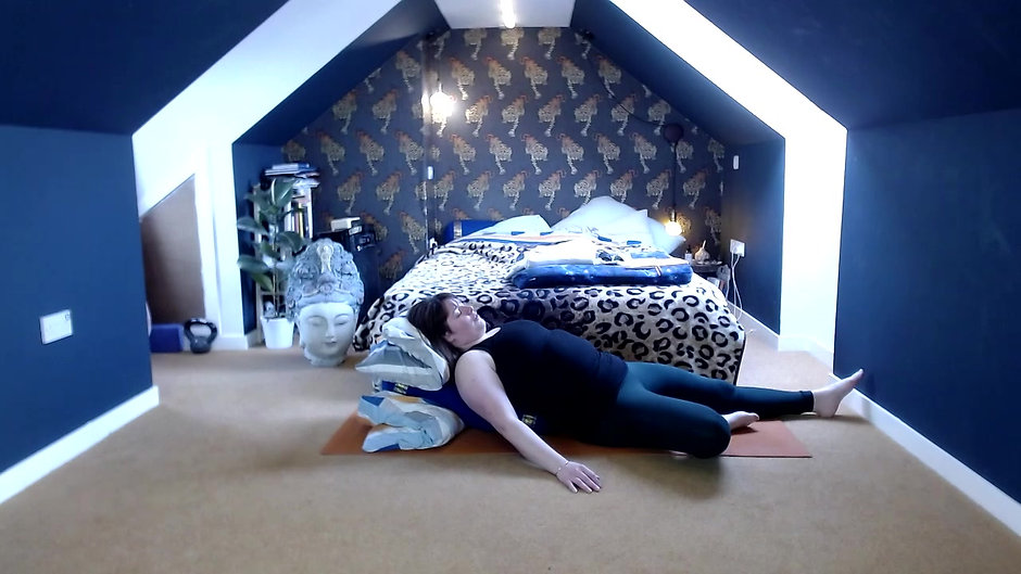 Restorative Yoga - Hope in the Dark