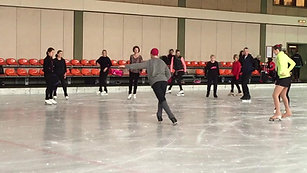 Basic alignment and stability in skating, Adult Skate Seminar, Oberstdorf, Germany