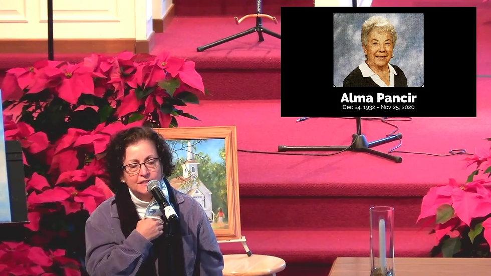 Alma's Memorial