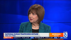 VU Human Trafficking Prevention Month KTLA broadcast 1.4.20