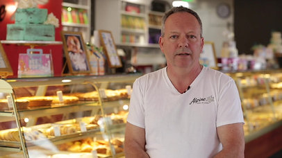 Working with Tom - Ernst Freitag of Alpine Pastry & Cakes